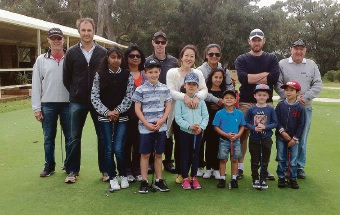 Rockingham Golf Club attracts 20 willing youngsters to My Golf