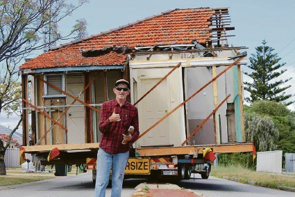 Howie Johnstone's new home arrives where his heart is in Yarloop
