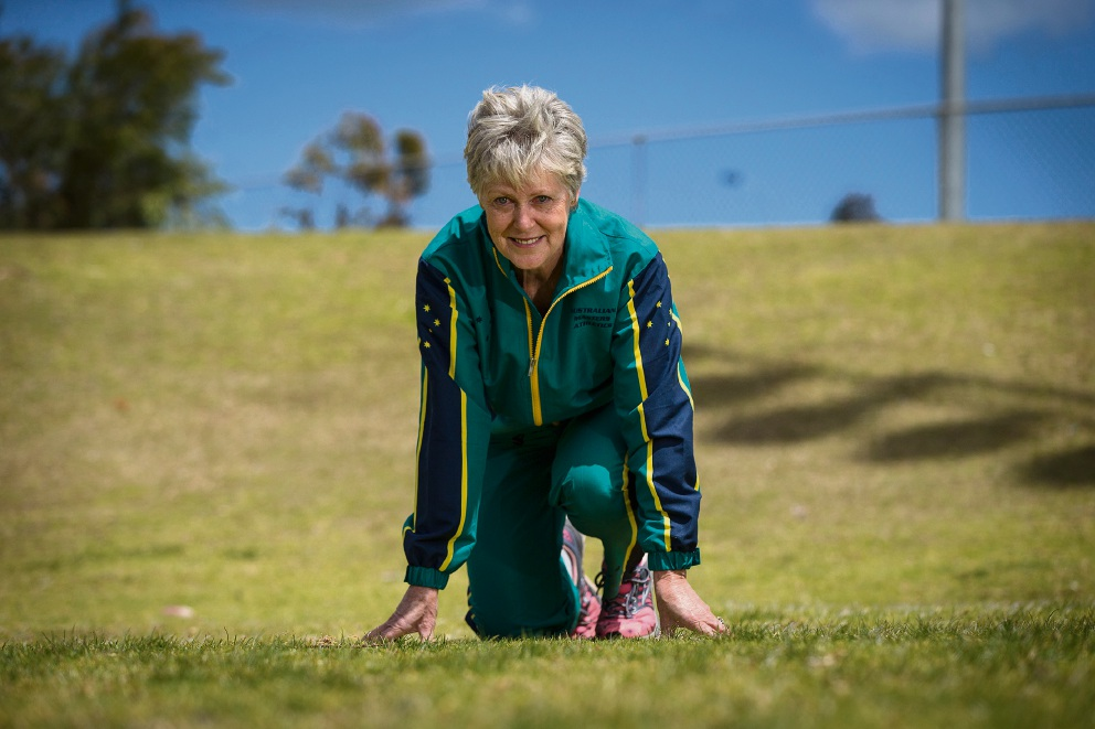 Halls Head runner Lynne Choate is getting ready to take part in her eleventh World Masters Athletics championships being held in Perth this week.