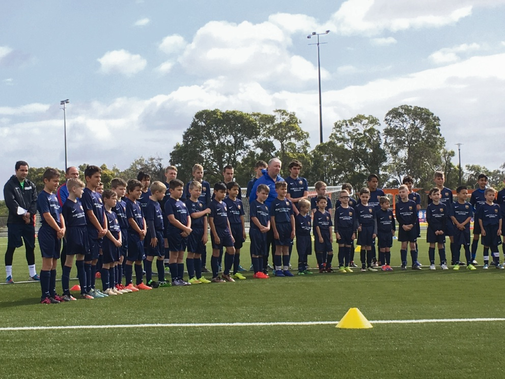Ellenbrook Sports Hub hosts FC Barcelona training camp