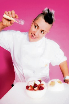 'Punk princess of pastry' chef Anna Polyviou will headline Entwined in the Valley 2016.