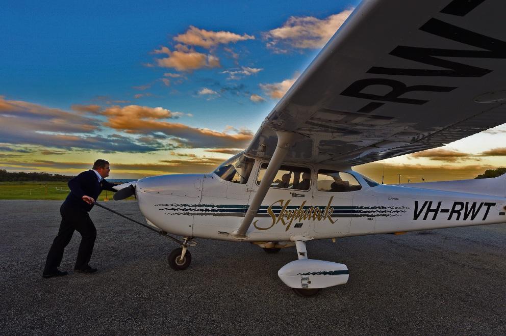 Pilots John Hewitt, Doug Whitfield, Michael Chlopek and Jeff Stein.