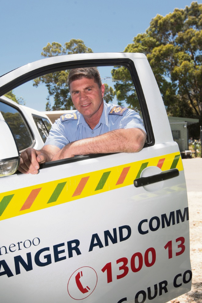 Wanneroo ranger Eric Ayers has been given life membership. Picture: Bruce Hunt    d462650