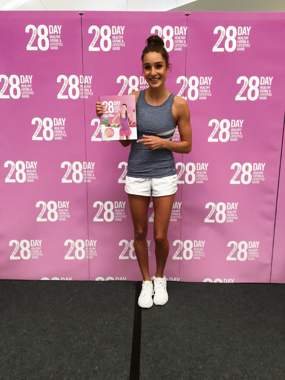 Fitness guru Kayla Itsines' releases new book at Whitford City