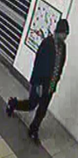 Police would like to speak to the man pictured as part of their investigation into the death of Ian Baz Bosch.