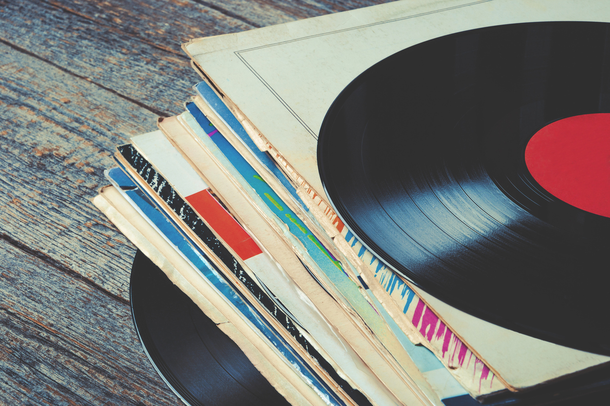 Rare vinyl collection in house thought abandoned in Orelia has student in a spin
