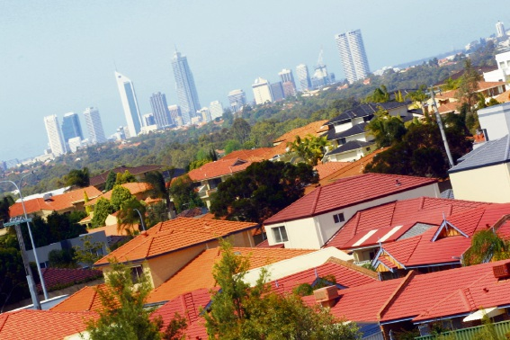 Perth's median house price up for second successive month