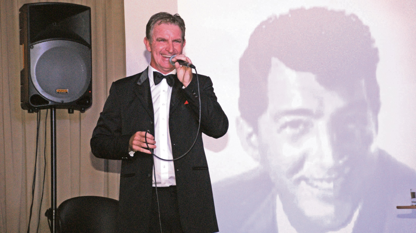 Tapping performer wants to do Dean Martin tribute show for dementia carers