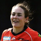 Heather Graham has had an impact at the Scorchers.