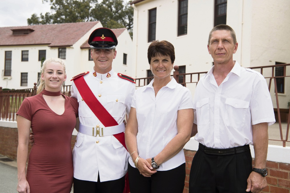 Merriwa's Dylan Taylor graduates from Canberra's Royal Military College Duntroon