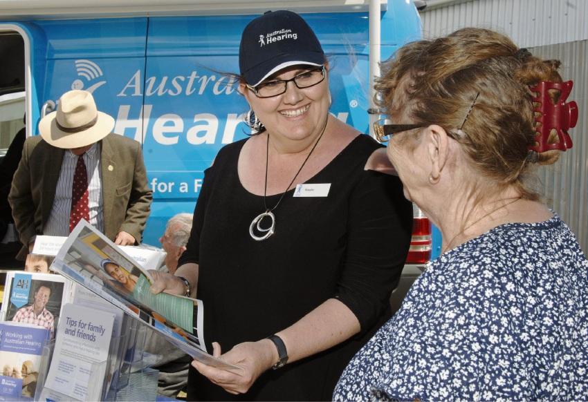 Australian Hearing staff member Natalie Sankey.