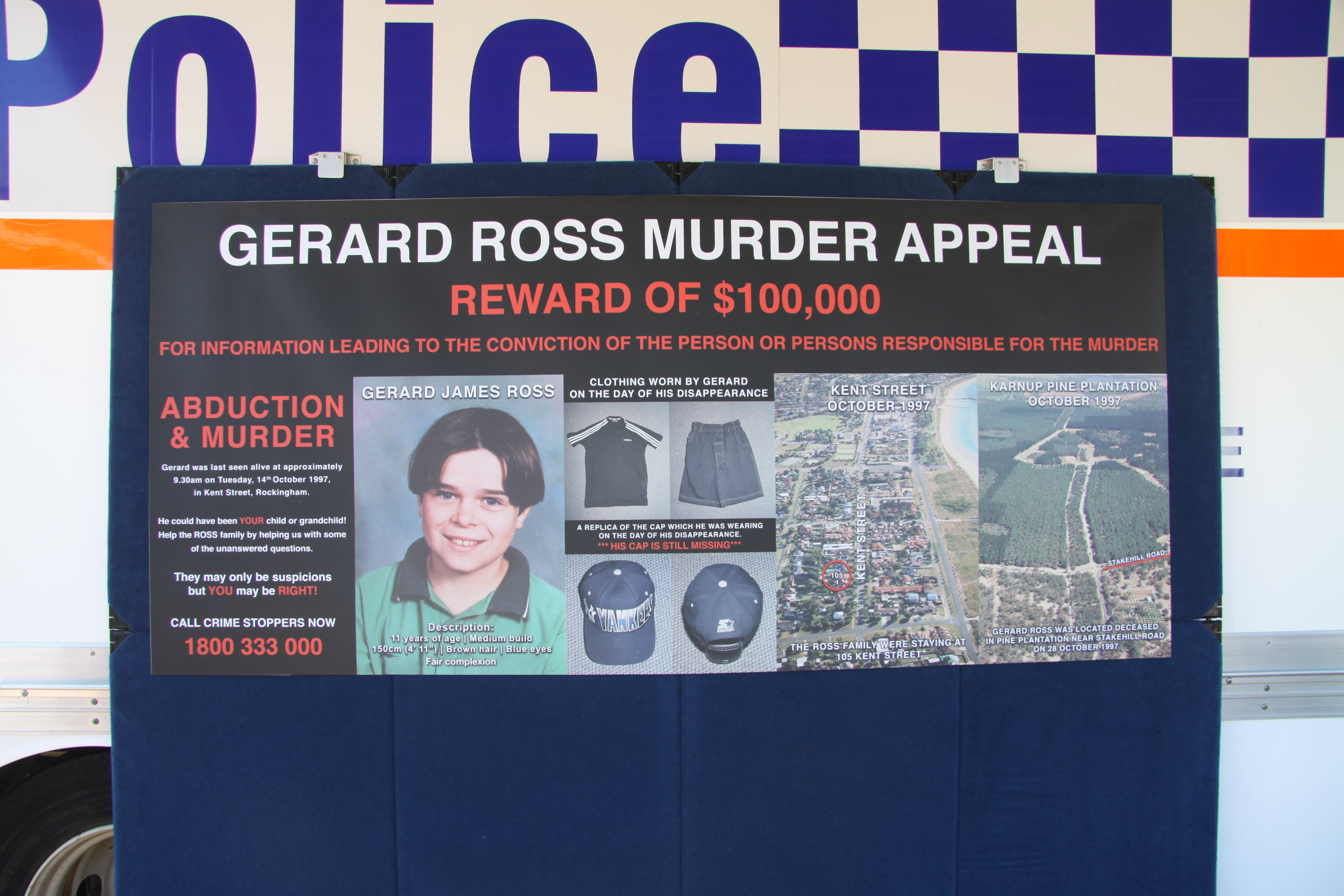 Gerard Ross murder: WA Police identify 'persons of interest', rule out Cowan