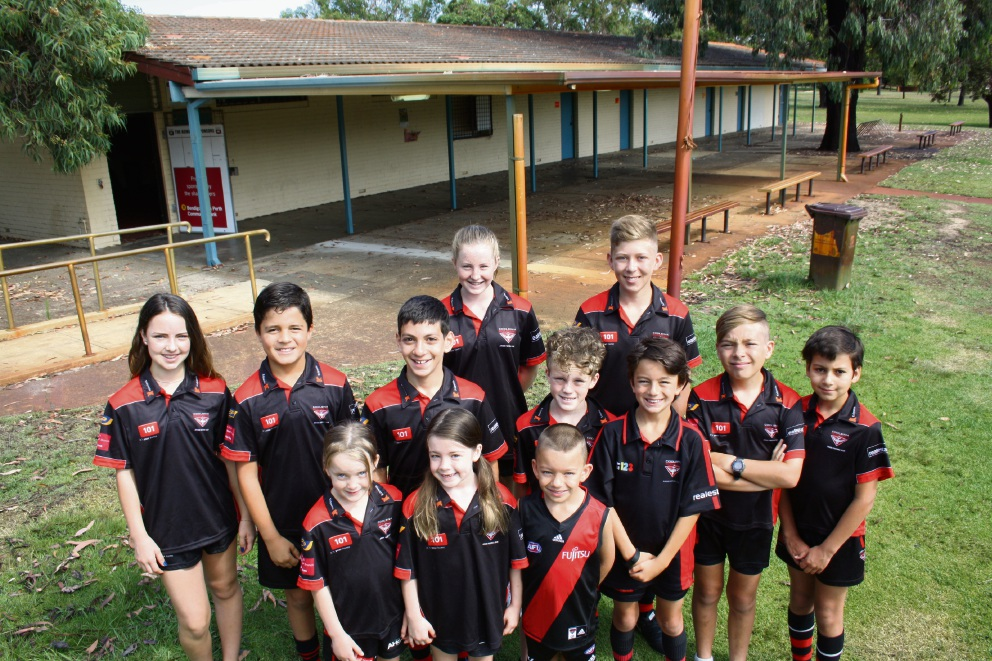 Members of the Coolbinia Junior Football Club are fundraising for an upgrade to their clubrooms.