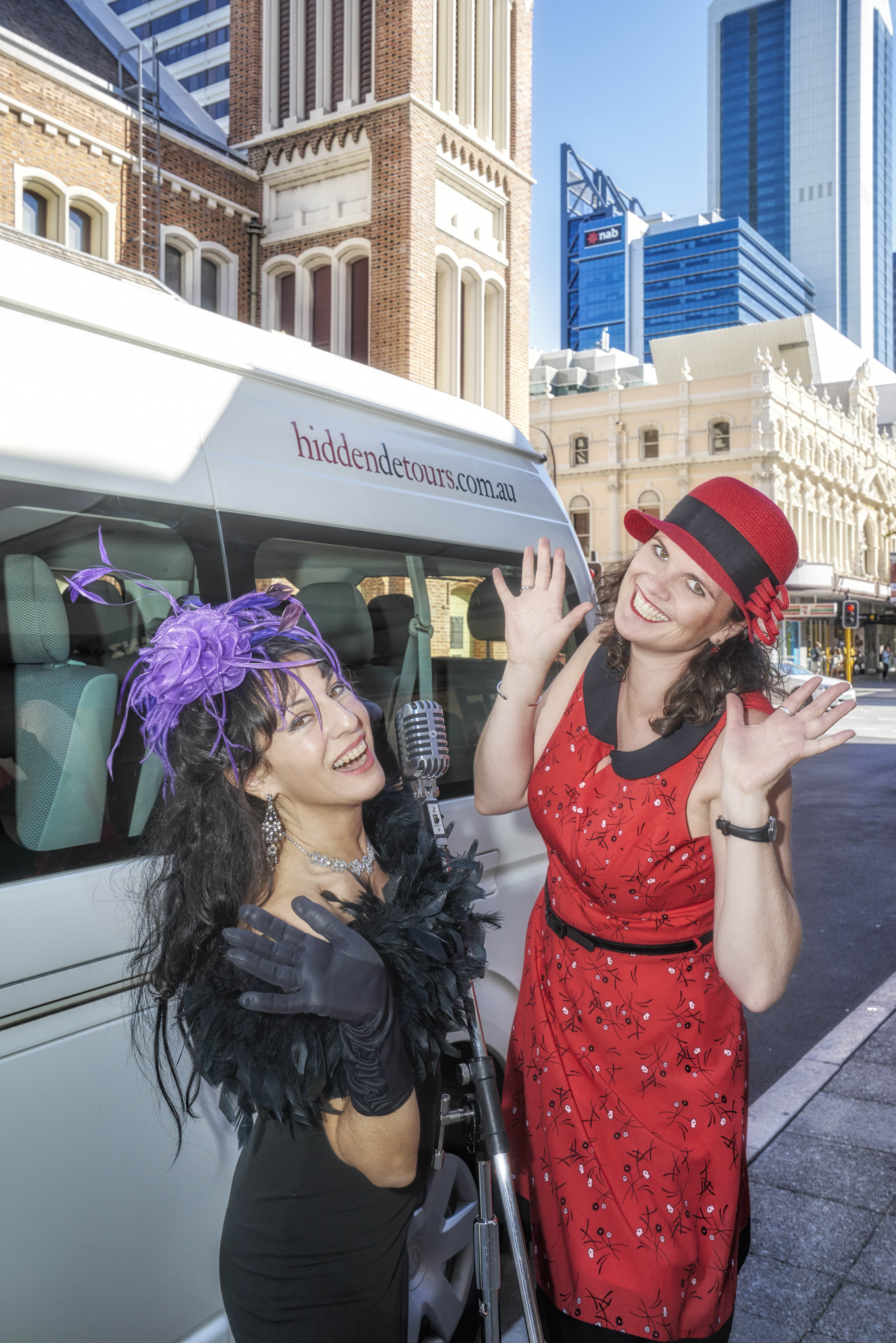 Take A Hidden Music Tour of Perth at Fringe World with rock 'n 'roll-loving ladies