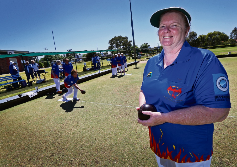 Cannington Districts Bowling and Recreation Club president Linda Landers. Picture: Matt Jelonek