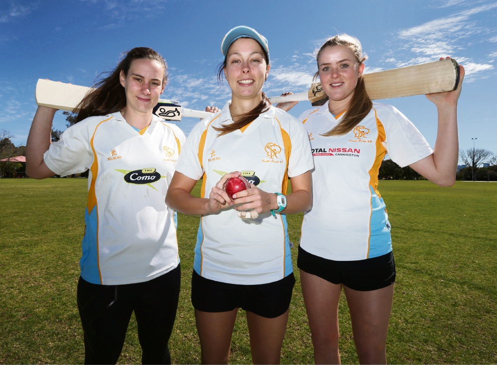 Cricket: South Perth's Piepa Cleary performs well in tour match win over South Africa