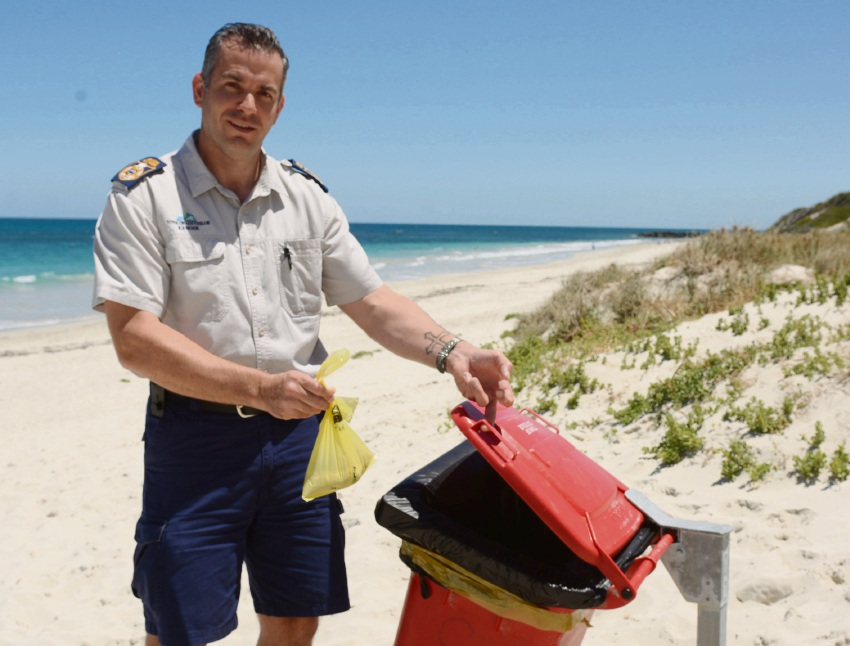 Cottesloe rangers' warning for dog poo offenders