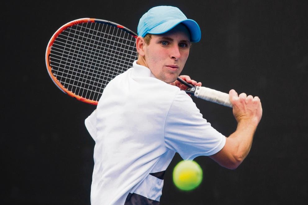Scott Jones has qualified for the Australian Open.