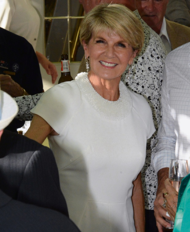 Julie Bishop hoping for an end to Syrian crisis in 2017