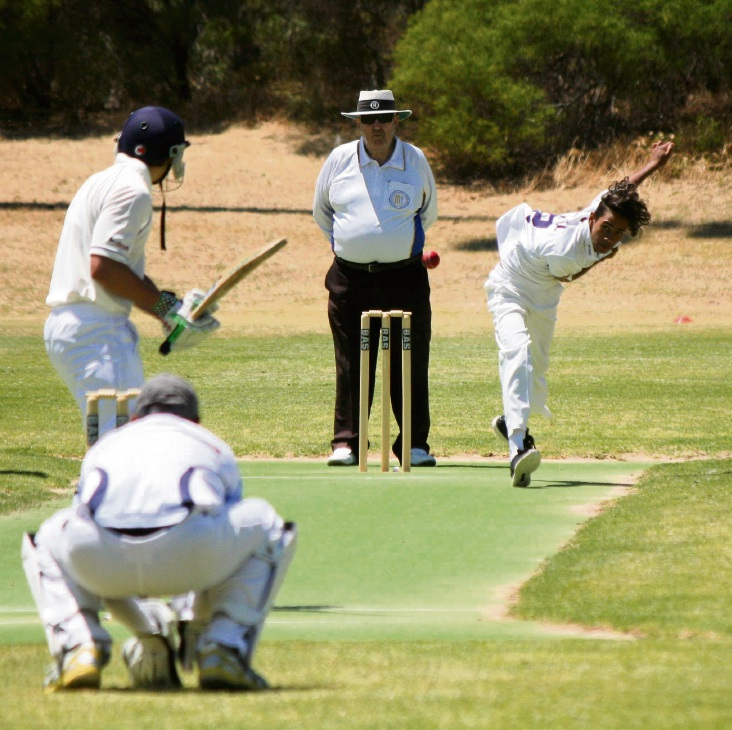 Fifth grade bowler Zaine Atwell bowled very economically taking 1-14 from eight overs.