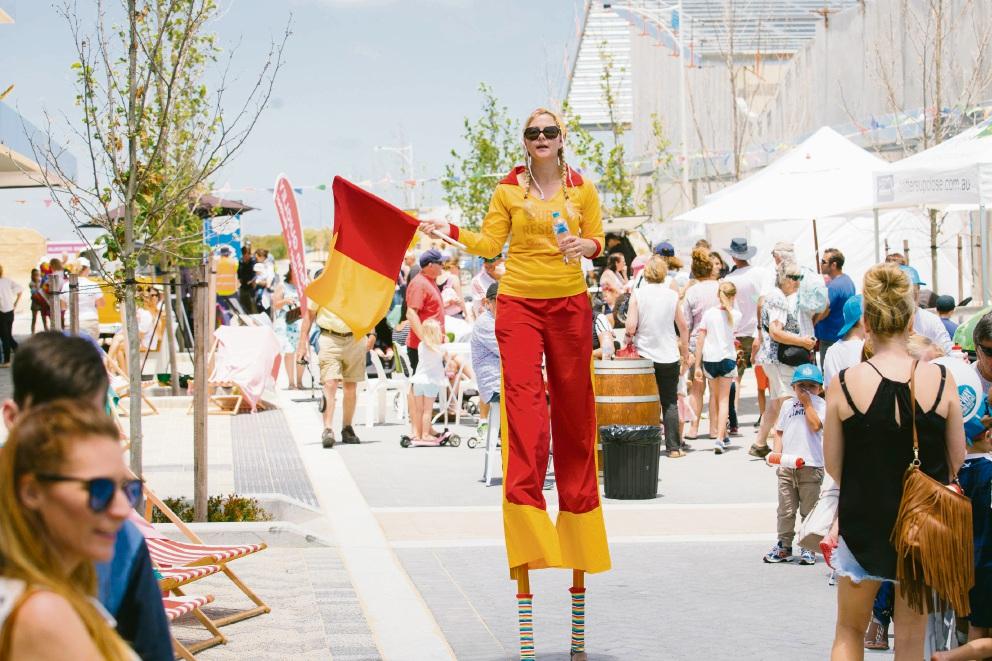 Alkimos street fair marks opening of first shopping centre