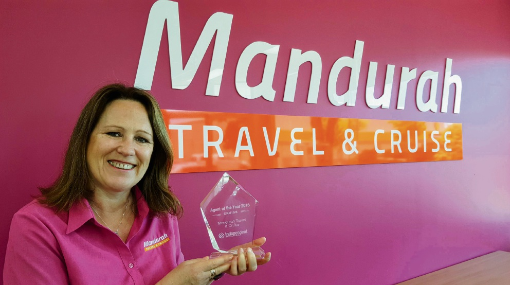 Mandurah travel agent named Agent of the Year at USA conference