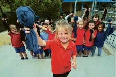 Quinns Rock Primary students get creative for National Recycling Week