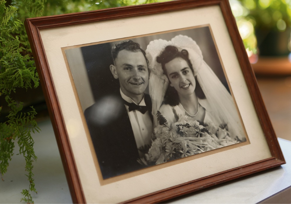 Couple celebrates 70 years of wedded bliss and understanding