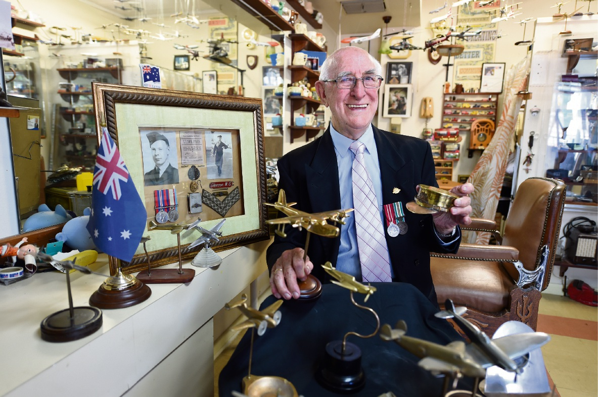 Trench art holds special place for South Perth hairdresser