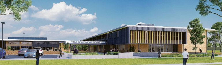 Artist's impressions of new Yanchep high school unveiled