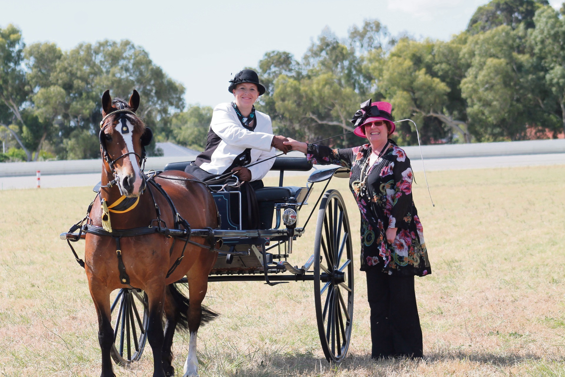 Swan Valley woman competing in Perth Horse and Pony Club contest