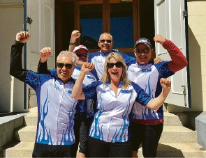 Ride to Conquer Cancer: Peard staff do their bit to raise funds
