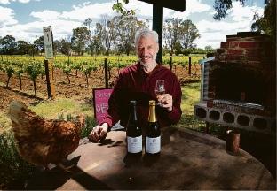 Duncan Harris of Baskerville, owner of Harris Organic Wines. Picture: David Baylis