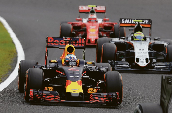 Japanese F1 GP: disappointing sixth for Ricciardo after horror pitstop