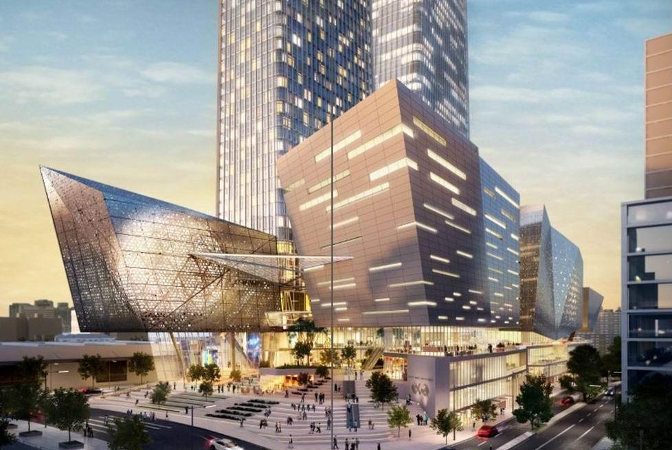 New twin-tower skyscraper development proposed for Perth's CBD