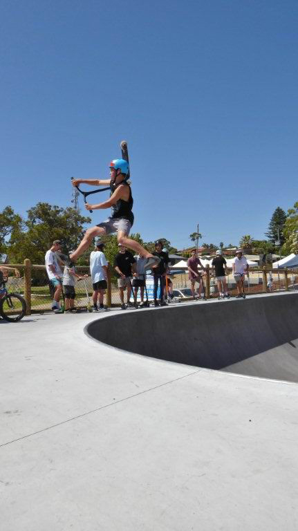 Wanneroo Skate Park. Picture: Gary Tate