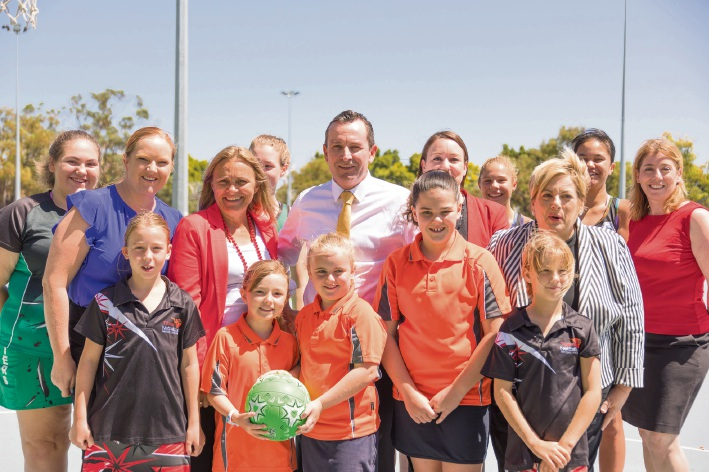Labor pledges $500,000 to upgrade netball facilities at Kingsway Sporting Complex