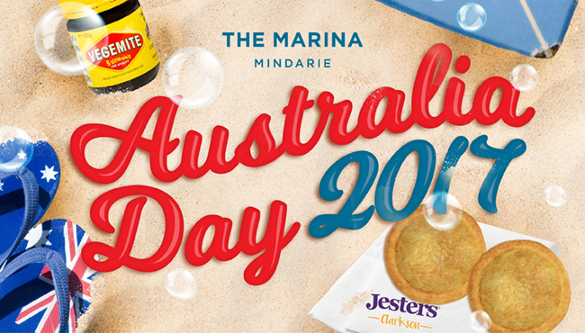 Australia Day at Mindarie Marina