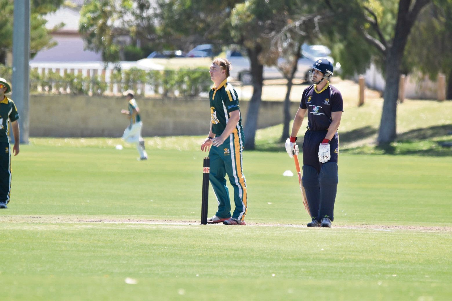 Jaron Morgan took three wickets for Joondalup last Saturday.