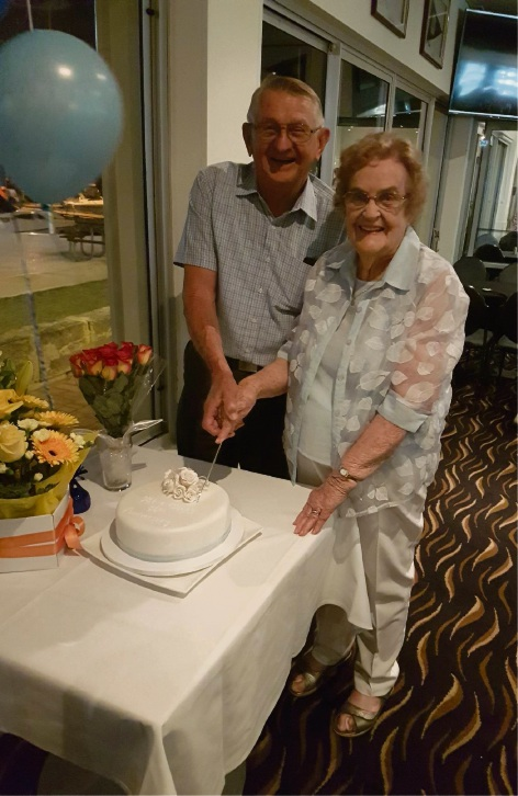 Hillarys couple Charles and Pat Hoath celebrated their 60th wedding anniversary on January 13.