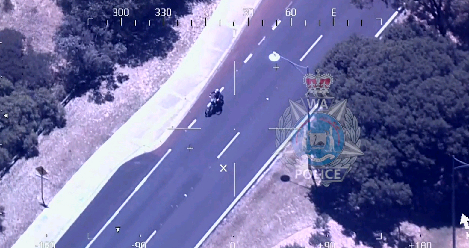 Chase drama: POLAIR's eye in the sky helps police arrest Warnbro man