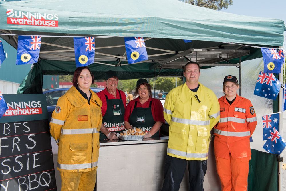 Aussie Day Weekend Fundraiser BBQ on this Thursday at Bunnings