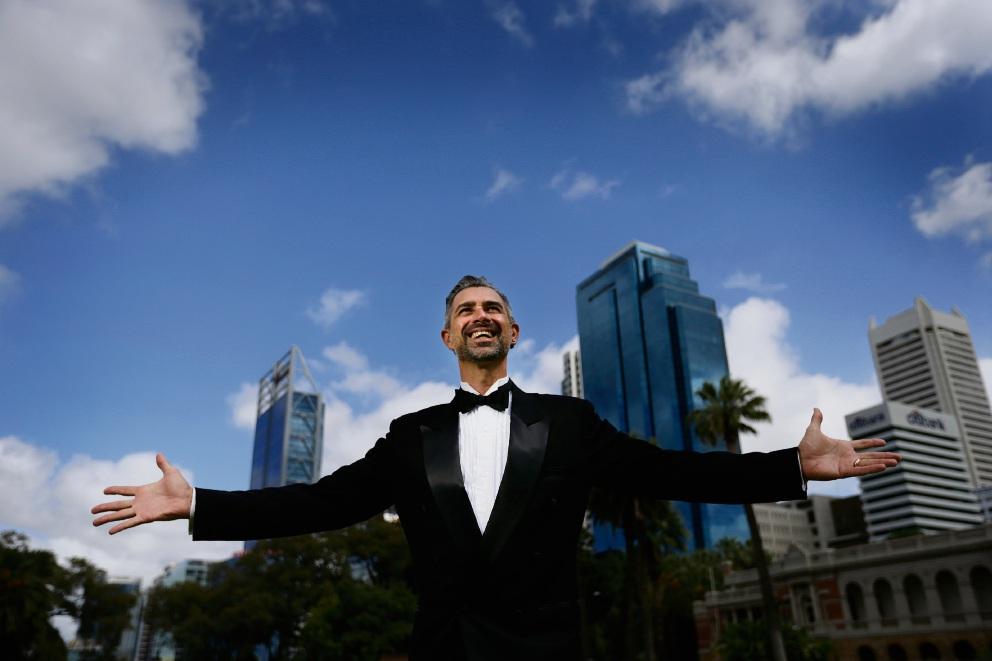 Concert director Brendan Hanson. Picture: Andrew Ritchie www.communitypix.com.au d464284
