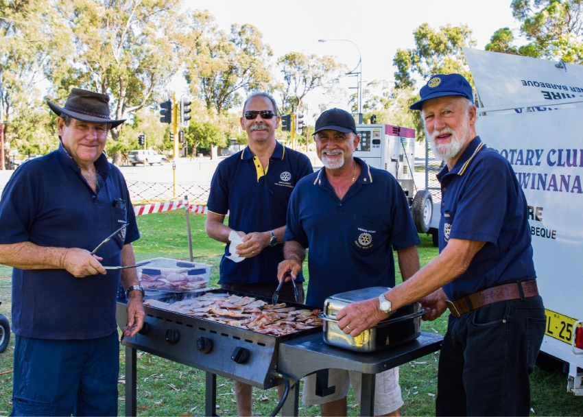 Australia Day 2017: Kwinana Rotary Club to kick of proceedings with breakfast