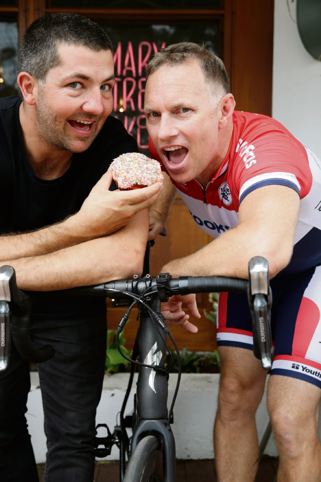 Doughnuts will fuel Youth Focus charity bike ride