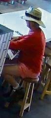 Detectives hunt for fast food flasher who may have filmed children