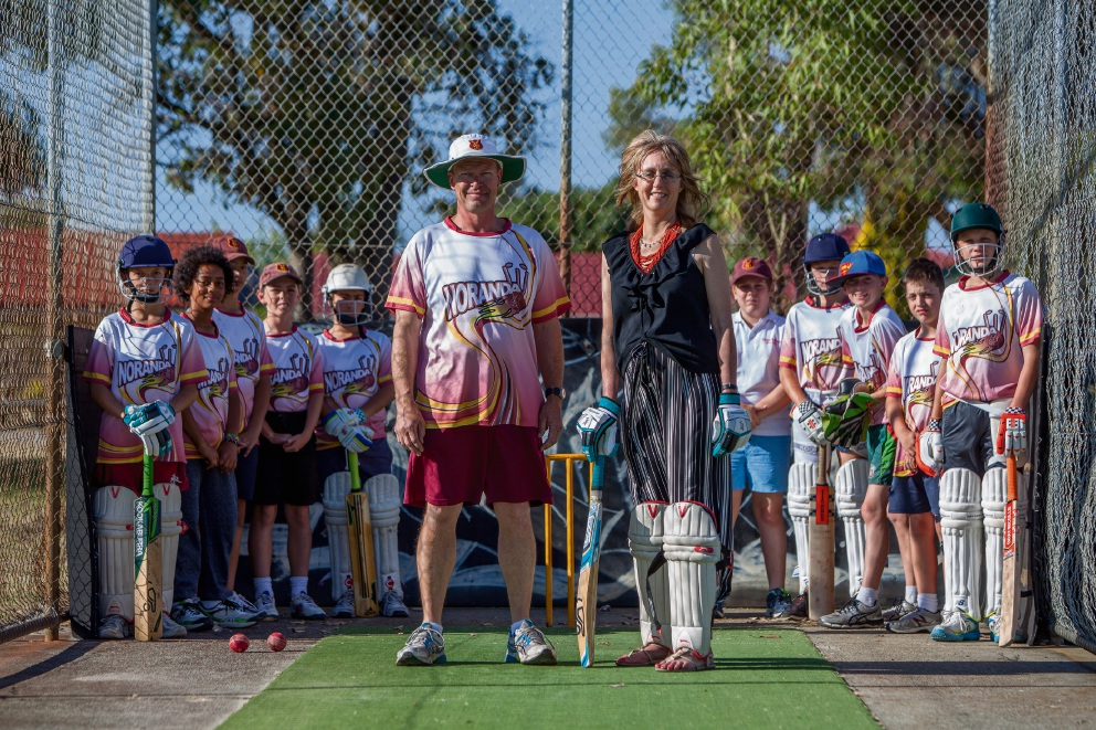 Top order: new nets for Noranda Junior Cricket Club