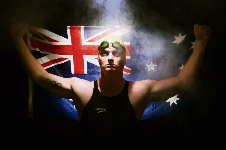 Olympic swimmer Jarrod Poort will take part in the Port to Pub swim.