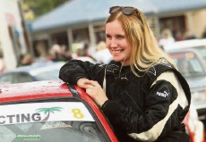 Father and daughter rally team Bill and Abbey Hayes making big noise in motorsport
