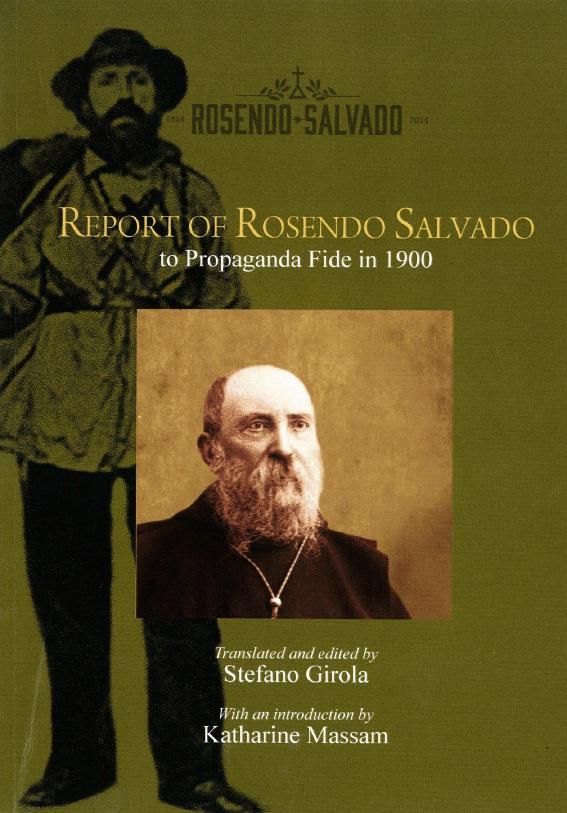 More of Rosendo Salvado's writing translated to English